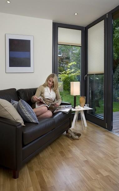 Internal finishings of a Rooms outdoor garden studio