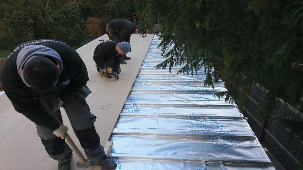 Garden rooms roof construction