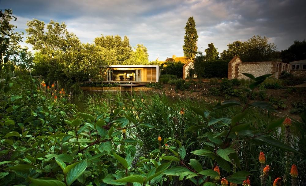 Country estate garden room outbuilding