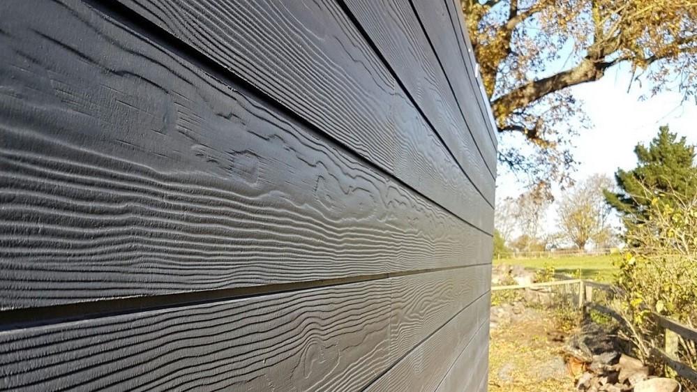 Cedral click composite cladding for garden rooms