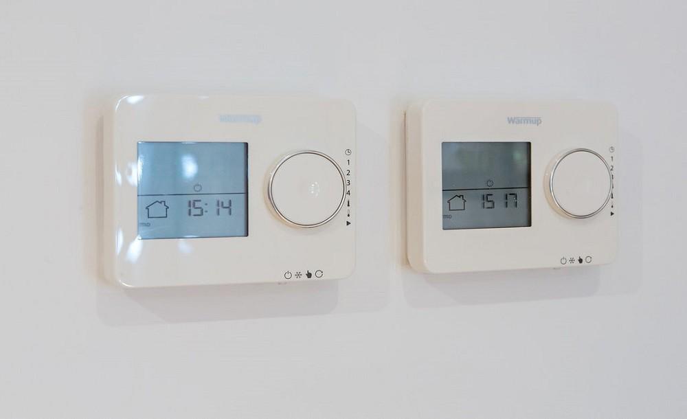 Underfloor heating for garden studios