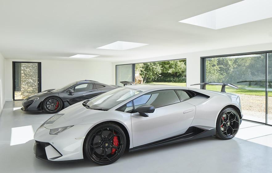 Maserati personal garden garage