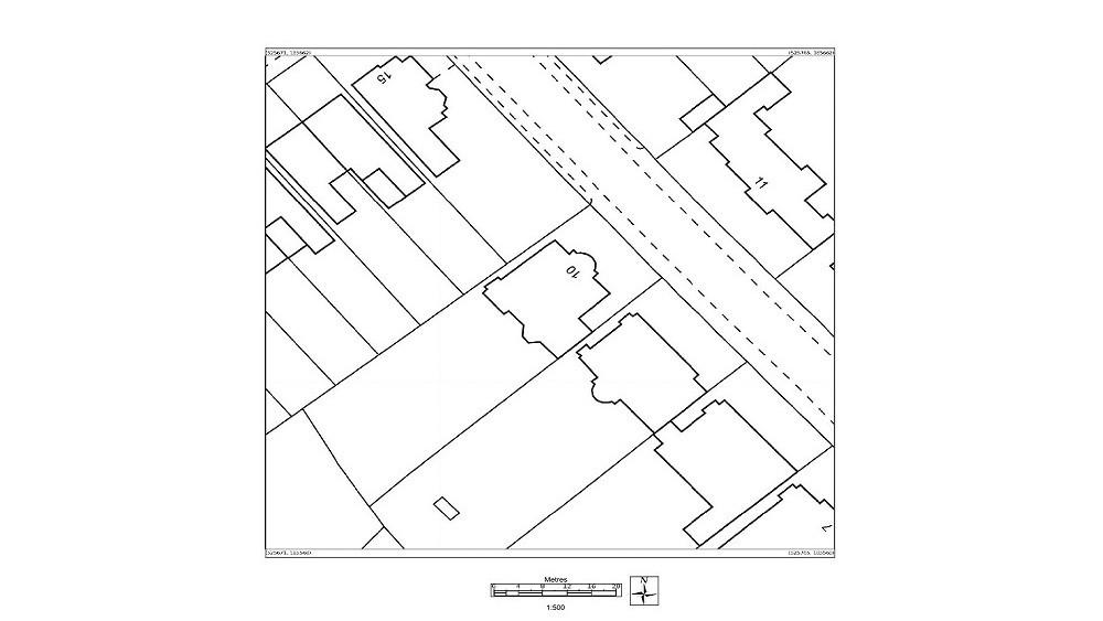 Planning application garden studios UK