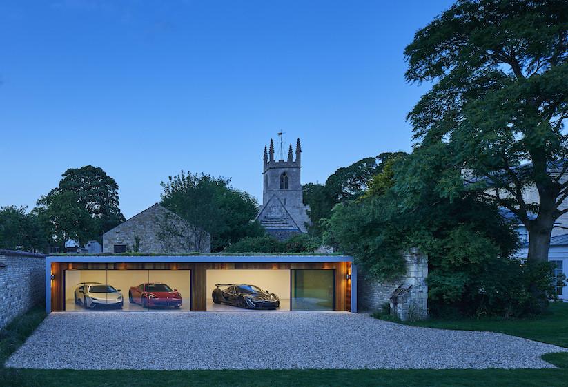 Cuberno garden room garage for luxury cars