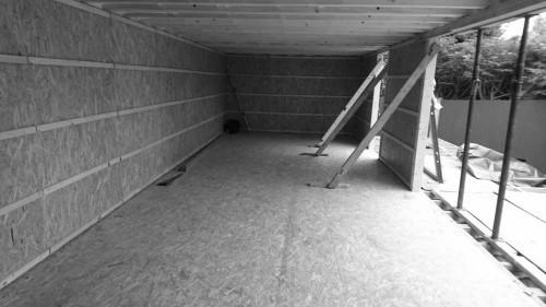 garden room walls insulation