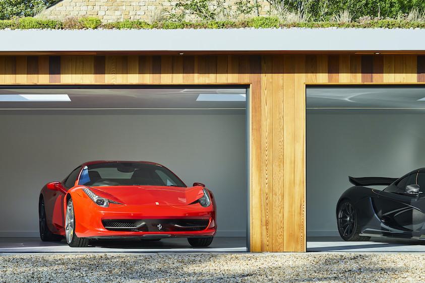Private car showroom Ferrari