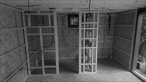 Garden studio partition walls