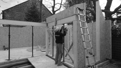 SIP panels garden gym