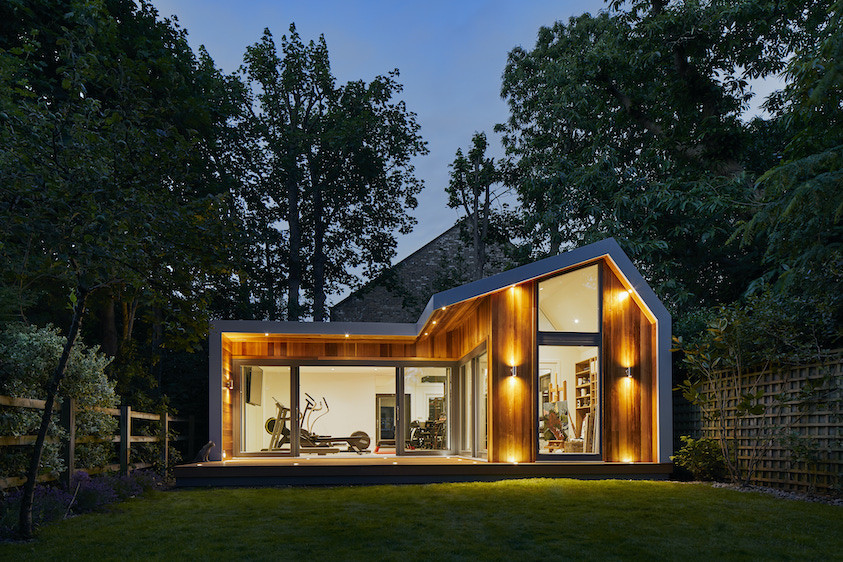 Dual pitched body craft studio in Wimbledon