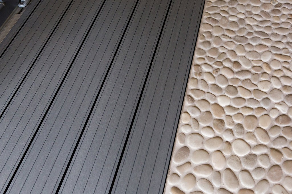 Composite decking option for your garden room