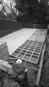 construction of a timber garden room