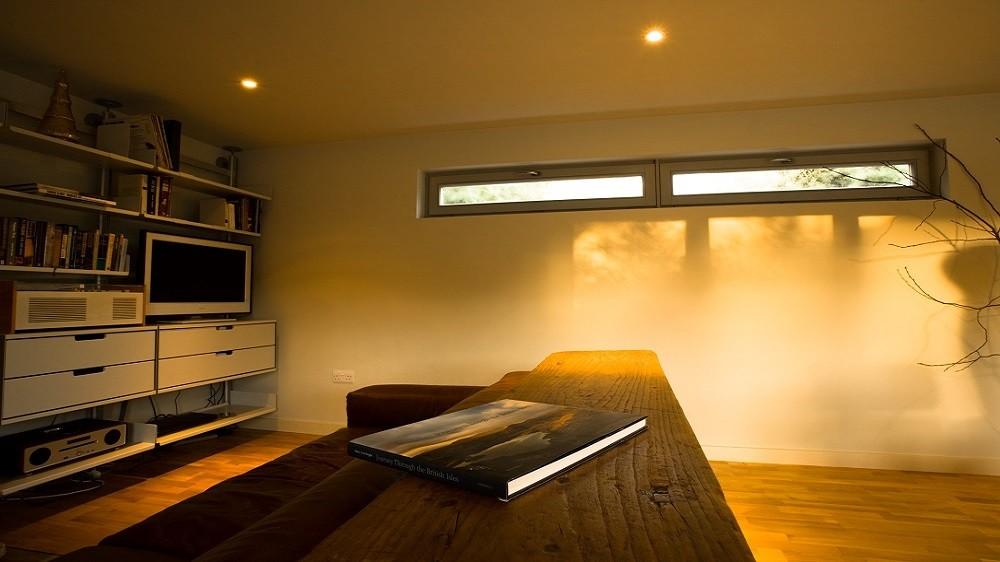 Standard internal finishing of a Rooms Outdoor's garden office