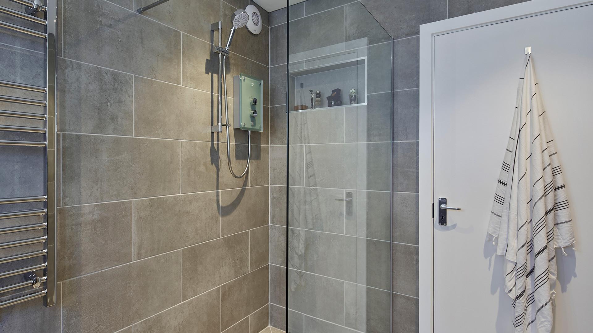 Wet-room garden annexe