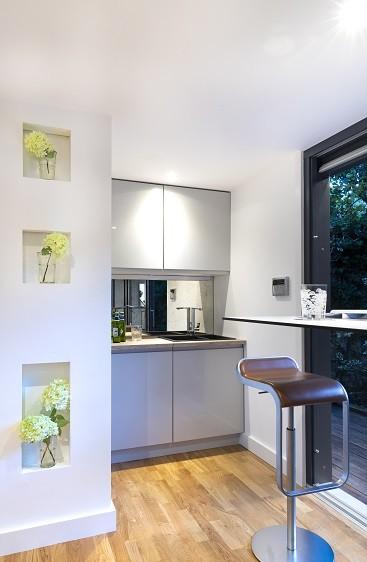 Garden annexe with kitchenette