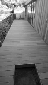 yellow balau garden room deck
